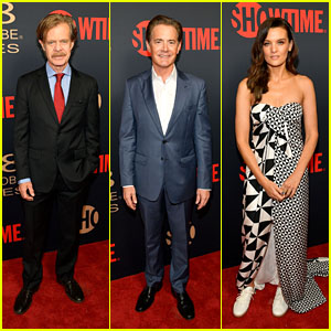 Golden Globe Nominees William H. Macy, Kyle MacLachlan & Frankie Shaw Hit the Red Carpet at Showtime Nominees Celebration 2018!