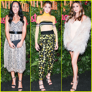 Golden Globe Ambassador Simone Johnson Stuns at Vanity Fair x Instagram Party
