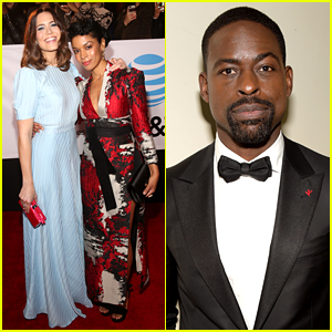 This Is Us' Sterling K. Brown Joins Mandy Moore & Others at NAACP Image Awards 2018
