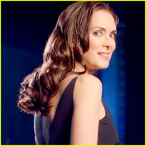 Winona Ryder Helps L'Oreal Paris With Their Elvive Comeback - Watch the Ad!
