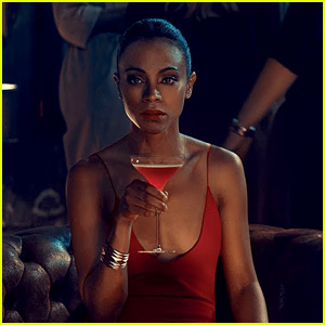 Zoe Saldana Stars in Campari Short Film 'The Legend of Red Hand' - Watch Now!
