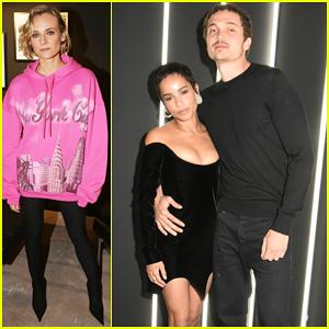 Zoe Kravitz & Boyfriend Karl Glusman Couple Up at YSL Beauty Paris FW Party!
