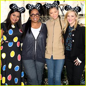 'A Wrinkle in Time' Cast Suprises Fans at Disneyland!