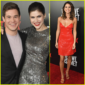 Adam DeVine & Alexandra Daddario Buddy Up at 'When We First Met' Screening!