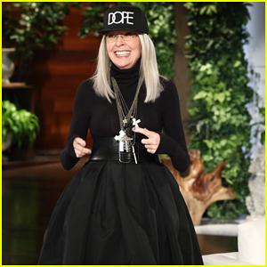 Diane Keaton Reveals Newfound Crush on Chris Martin on 'Ellen': 'He's Gorgeous'!