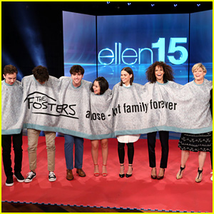 'The Fosters' Cast Discuss Their Final Season on 'Ellen' - Watch Now!