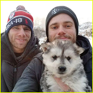 Olympic Skier Gus Kenworthy Adopts Puppy From Korean Dog Meat Farm