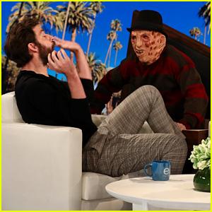 John Krasinski Gets an Epic Scare on 'Ellen,' Talks About 'The Office' Reboot! (Video)