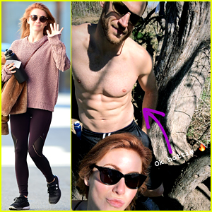 Julianne Hough Climbs Trees with Her Shirtless Hubby & Brother