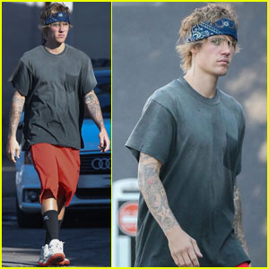 Justin Bieber Steps Out After Selena Gomez Valentine's Day Date