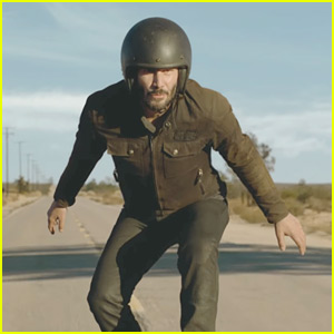 Keanu Reeves in Squarespace Super Bowl Commercial 2018 - Watch Now!