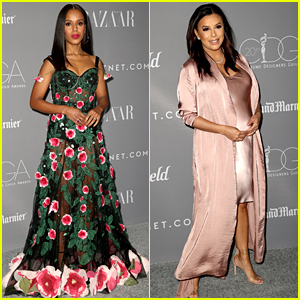 Kerry Washington & Pregnant Eva Longoria Celebrate the Costume Designers!