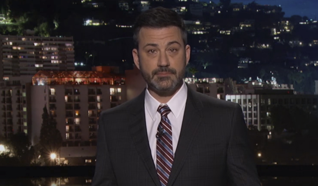Jimmy Kimmel Chokes Up During Emotional Speech About ...