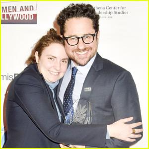 Lena Dunham Honors J.J. Abrams at Athena Film Festival