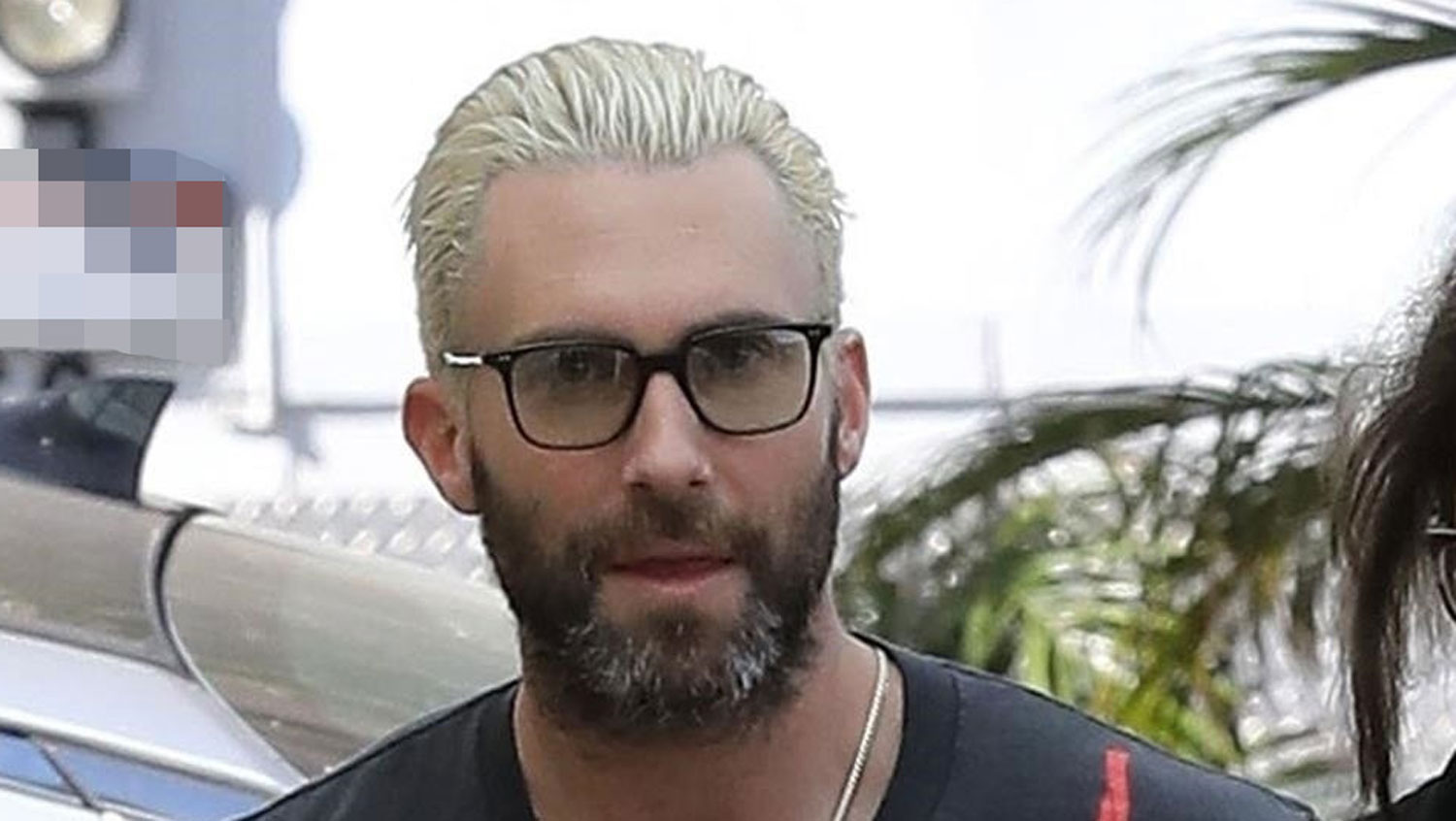 Adam Levine Steps Out With Blonde Hair After Dropping Maroon 5′s ...