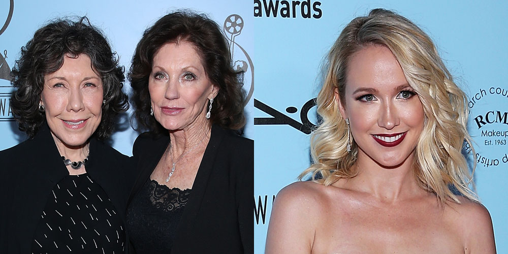 Anna Camp & Lily Tomlin Attend Makeup & Hair Stylists Guild Awards ...