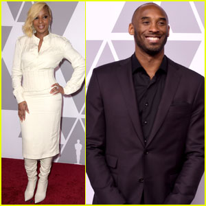 Mary J. Blige & Kobe Bryant Join Stars at Oscar Nominees Luncheon!