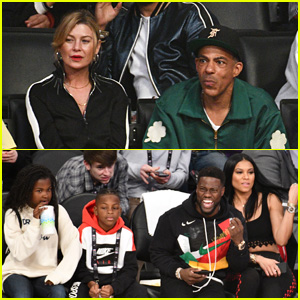 Lots of Celebrities Watch NBA All-Star Game 2018!