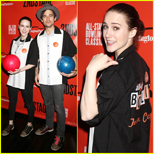 Rachel Brosnahan Steps Out to Support Second Stage Theater All-Star Bowling Classic Benefit!