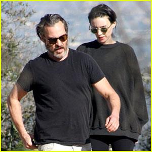 Rooney Mara & Boyfriend Joaquin Phoenix Go Hiking in LA