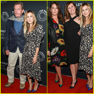 Sarah Jessica Parker Joins 'Divorce' Co-Stars at Screening in NYC