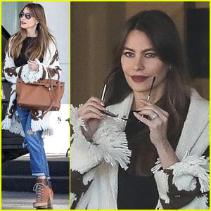 Sofia Vergara Starts Her Weekend with a Shopping Trip