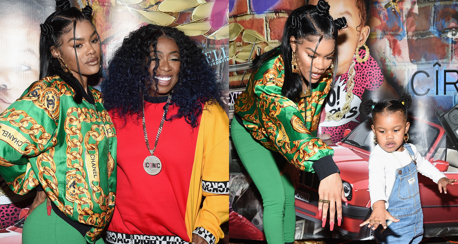 Is Missy Elliot Married Cheap teyana taylor gets support from missy elliott & baby girl at junie