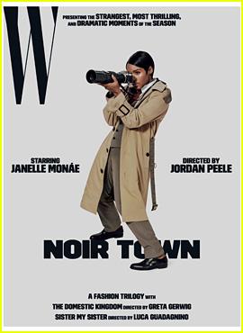 Greta Gerwig, Jordan Peele, & Luca Guadagnino Pick Their Favorite Women of the Moment for 'W' Shoot