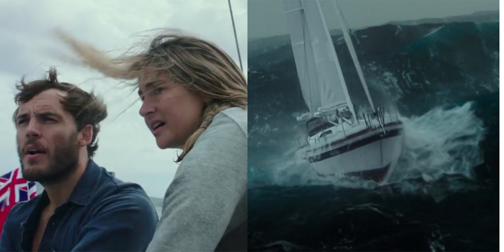 Shailene Woodley Amp Sam Claflin Are Lost At Sea In Adrift