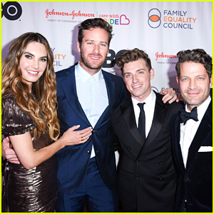 Armie Hammer & Elizabeth Chambers Honor Nate Berkus & Jeremiah Brent at Family Equality Council Awards
