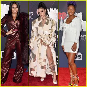Ashanti, Kehlani & Justine Skye Arrive at iHeartRadio Music Awards 2018