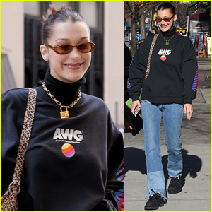 Bella Hadid is So Happy to Be Back in NYC!