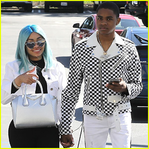 Blac Chyna & Boyfriend YBN Almighty Jay Hold Hands During Shopping Trip