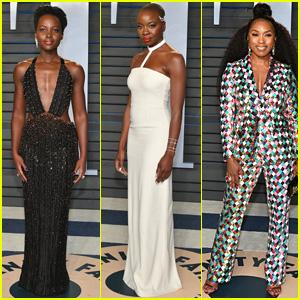 Black Panther's Lupita Nyong'o, Danai Gurira & Angela Bassett Go Glam After Oscars 2018!