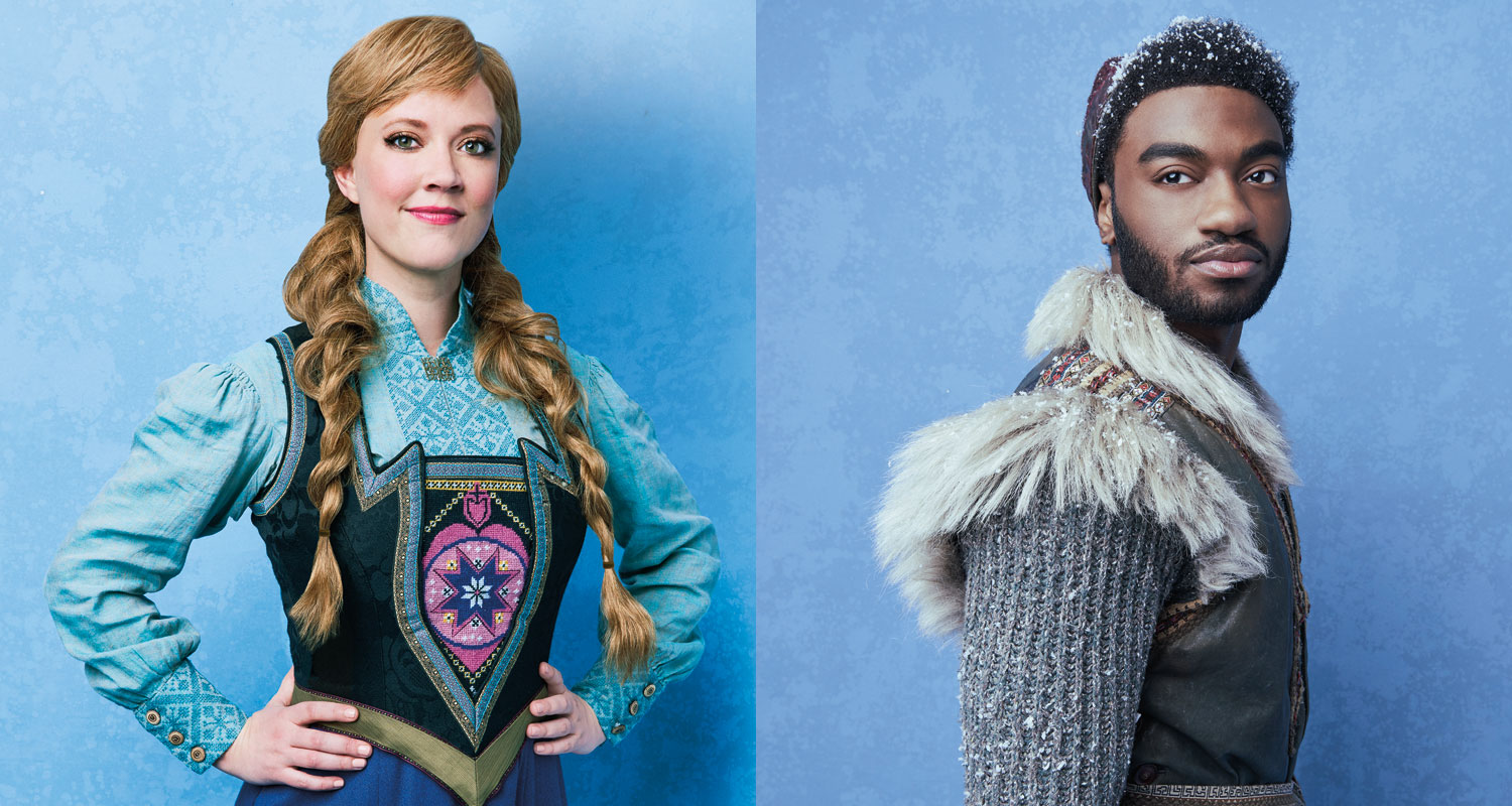 broadway s frozen debuts new anna kristoff song what do you