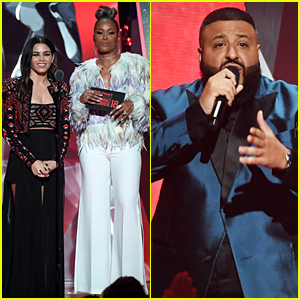 DJ Khaled Couldn't Say Jenna Dewan Tatum's Name Right at iHeartRadio Music Awards 2018