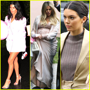 Khloe Kardashian Celebrates Baby Shower with Family & Friends!