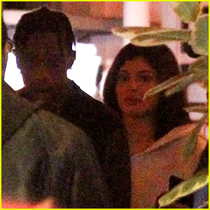 Kylie Jenner & Travis Scott Step Out for Date Night Dinner!