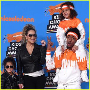 Mariah Carey & Nick Cannon Bring Twins Moroccan & Monroe to KCAs 2018!