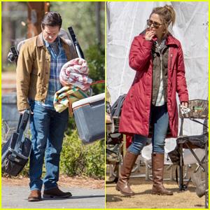 Mark Wahlberg & Rose Byrne Film 'Instant Family' in Georgia!