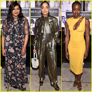Mindy Kaling, Tessa Thompson, Danai Gurira & More Kick Off Oscars Week at Vanity Fair's Women in Hollywood Soiree!