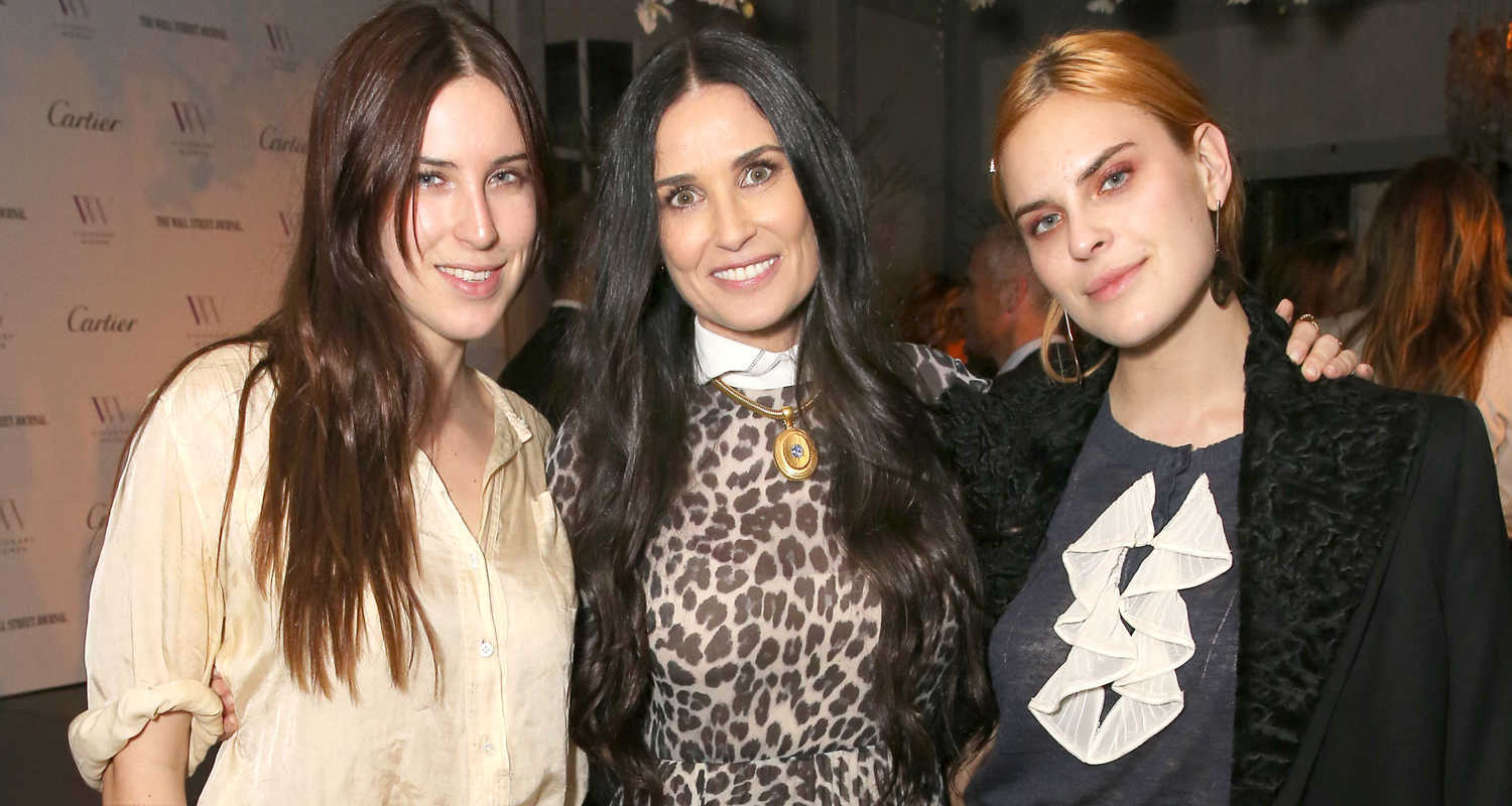 Demi Moore Gets Support from Daughters Scout & Tallulah at ...