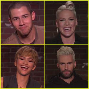 Nick Jonas, Pink, & More Musicians Read 'Mean Tweets' - Watch Now!