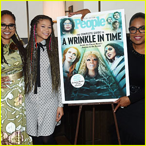 Oprah Winfrey, Ava DuVernay, & Storm Reid Team Up for People Mag's 'A Wrinkle in Time' Celebration