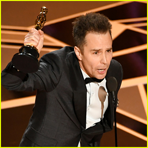 Sam Rockwell Wins Best Supporting Actor at Oscars 2018!
