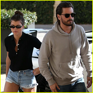 Sofia Richie Shops with Scott Disick Before Lazy Night at Home