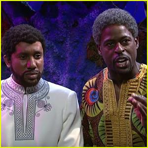 Sterling K. Brown Brings 'Black Panther' to 'SNL' - Watch!