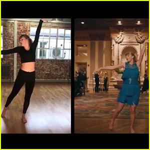 Taylor Swift Gives Inside Look at Her 'Delicate' Dance Rehearsal