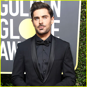 Zac efron photos news and videos just jared zac efron jams out to the other side from the greatest showman video stopboris Image collections