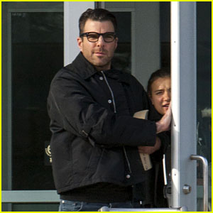 Zachary Quinto Causes a Social Media Stir at University of Michigan